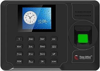 Time Office Fingerprint and Cloud Based Attendance Machine (Black) (Finger+Card+Battery)