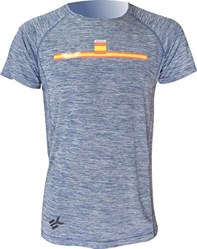 T-Shirt EKEKO TEIDE - Spanien. Wettkampf-T-Shirt, weich, atmungsaktiv und Leicht. Perfekt FÜR IHRE LIEBLINGSPORT Laufen, Tennis, Fitness, Gym, Crossfit UND ETC. (S)