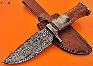 REG-HK-41- Custom Handmade Damascus Steel 10.00 Inches Knife