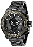 Invicta Men's Sea Hunter Automatic Watch with Stainless Steel Strap, Black, 24 (Model: 29921)