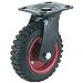 Steelex D2581 Swivel Heavy Duty Industrial Wheel, 8-Inch (Renewed)