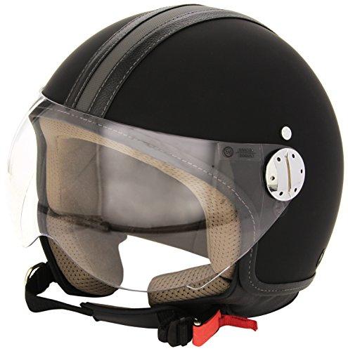 Bottari Motorradhelm Skin Emotion, Rubber Black, Größe M