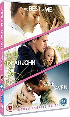 Nicholas Sparks Triple: Dear John/Safe Haven/The Best of Me [3 DVDs] [UK Import]
