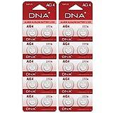 Pilas para reloj, paquete de 20 unidades, tamaño AG4, LR626, 377, SR626, 606