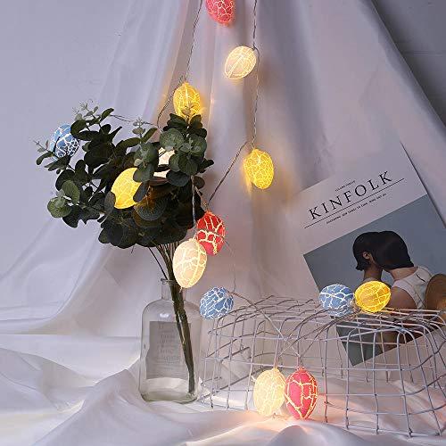 Paaseieren LED snoer Lights Party Leuke Kleurrijke Lamp Tables Decor Festival Hanging Lighting Indoor