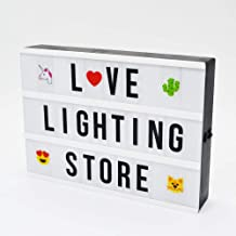 Best diy lighted marquee letters Reviews