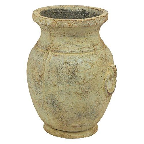 Keramik Pflanzpokal Pflanzkübel Krug Blumentopf Haus Deko Pflanztopf Antik Look