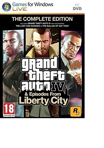 Grand Theft Auto Iv Complete Edition (Iv + Episodes From Liberty City) Pc- Pc