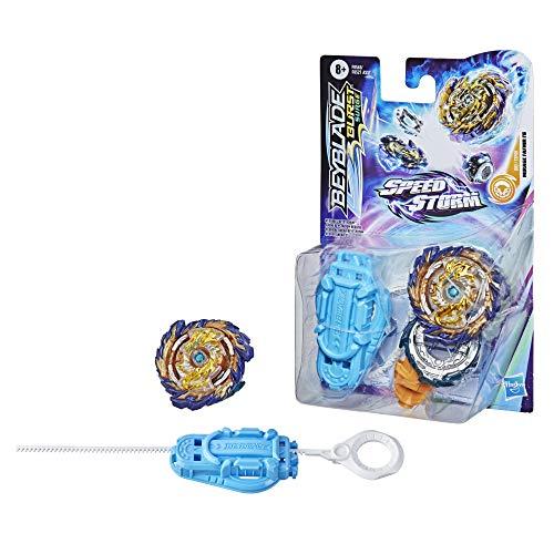 Beyblade SPEEDSTORM Pack PEONZA Y Lanzador Mod. SDOS, Multicolor (Hasbro F0527EU4)