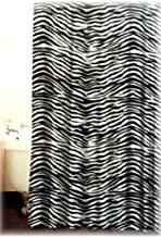 Famous Home Zebra Shower Curtain