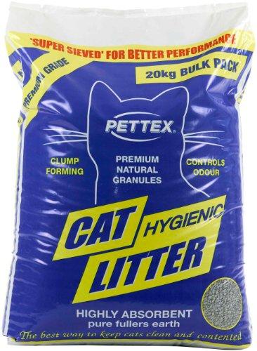 La basura de PET-538143 Pettex premium tierra de Batán gato Aglutinación (20 kg)