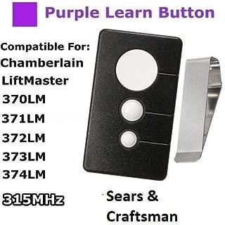 Sears Craftsman Garage Door Opener Remote Transmitter 139.53985D 139.53990D
