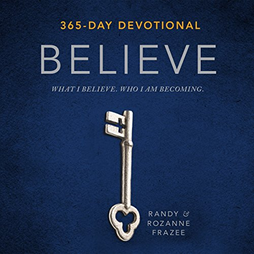 Believe Devotional audiobook cover art