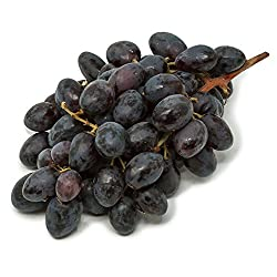 Amae Black Large Seedless Grapes, 500g - Air Flown