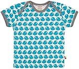 loud + proud Unisex Baby Bio Baumwolle, GOTS Zertifiziert T-Shirt, Blau (Petrol Pe), (Herstellergröße: 98/104)