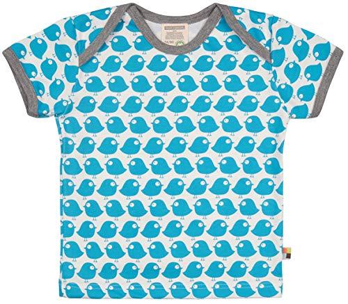 loud + proud loud + proud Unisex Baby Bio Baumwolle, GOTS Zertifiziert T-Shirt, Blau (Petrol Pe), (Herstellergröße: 74/80)