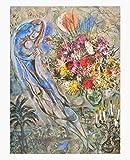 Germanposters Marc Chagall Les Amoureux en Gris Poster