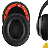 Geekria Ear Pads for Beats Studio 3, Studio 2, Studio Wired B0500 / Wireless B0501 Beats Headphone Cover Replacement Ear Pad/Ear Cushion/Earpads Repair Parts (Matte Black)