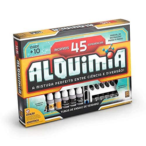 Kit Alquimia 45 Experiências Químicas De Verdade Grow