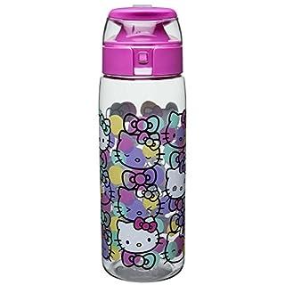 سعر Zak Designs SHPC-P280 Water Bottles, Tritan Straw, Shopkins