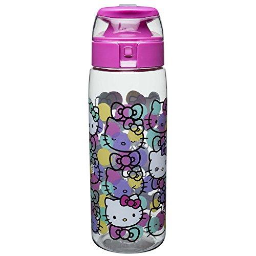 Zak Designs Sanrio Water Bottles, Tritan, Hello Kitty