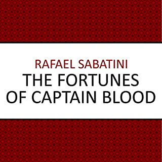 The Fortunes of Captain Blood audiobook cover art