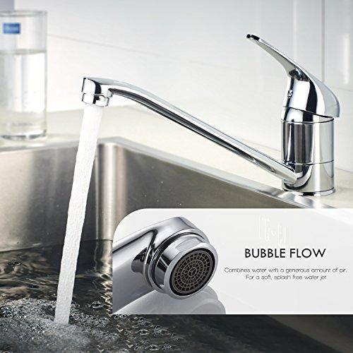 Auralum® Einhebel Spültisch Armatur Mischbatterie Wasserhahn Klasisch Design - 8