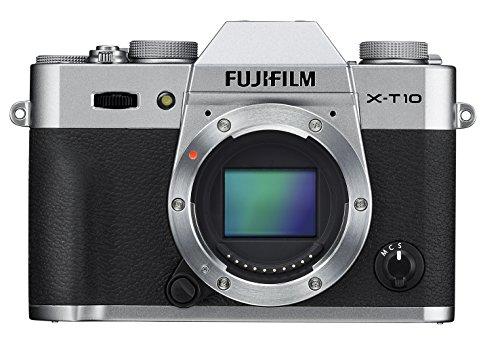 Fujifilm X-T10 Body Silver Mirrorless Digital Camera