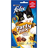 Purina Felix Party Mix Original Snacks, golosinas y chuches para gato 8 x 60 g