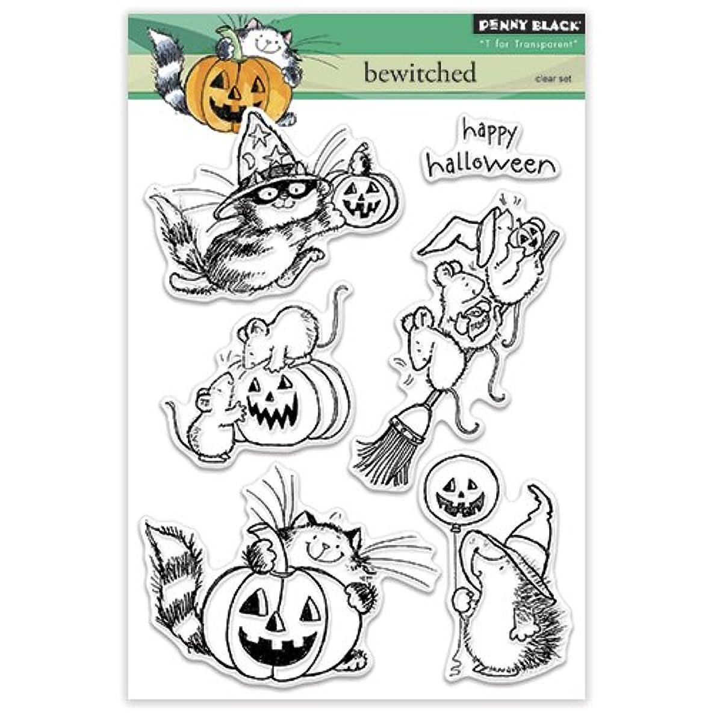 Penny Black 30-318 Bewitched Transparent Decorative Rubber Stamp Set