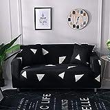 Fundas de sofá elásticas universales para Sala de Estar, Toalla de sofá, Funda de sofá Antideslizante, Funda de sofá elástica A5, 4 plazas