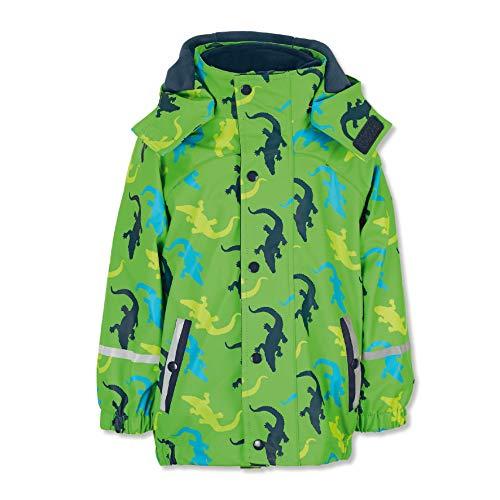 Sterntaler jongens regenjas met binnenjas, 3in1 multifunctionele jas, groen