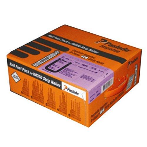 Paslode Impulse Packs - blank (gerillt) - Ø 2,8 x 75 mm