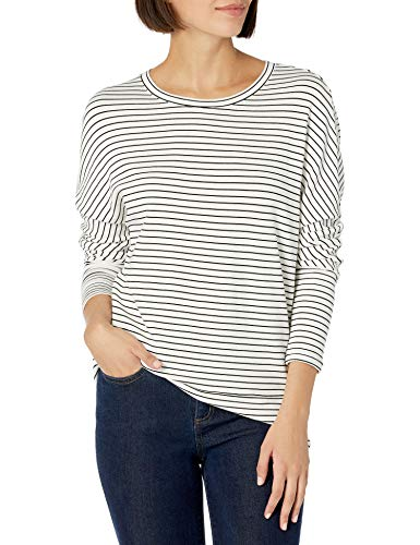Daily Ritual Women's Supersoft Terry Dolman Cuff Sweatshirt