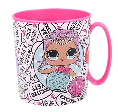 Theonoi kunststof beker/mok 350 ml naar keuze: Minnie - Princess - Frozen PawPatrol/beker met handvat van kunststof BPA-vrij geschikt voor de magnetron/meisjes cadeau