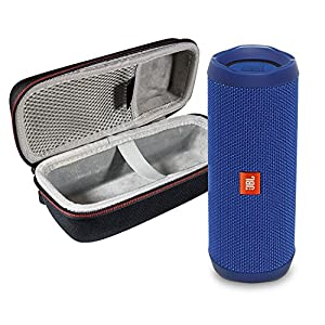 JBL  Waterproof Portable Bluetooth Speaker & Protective Travel Case Bundle