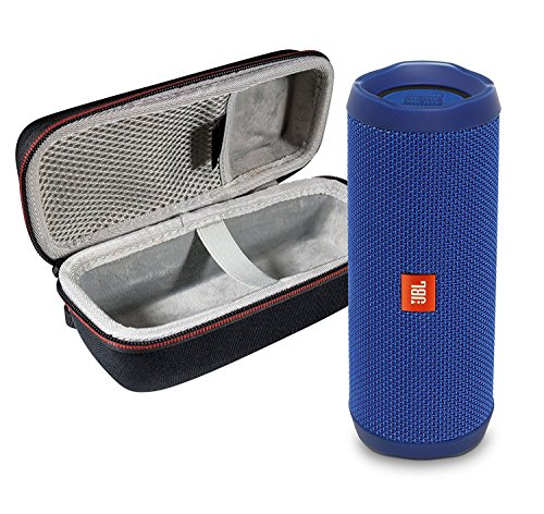 JBL  Waterproof Portable Bluetooth Speaker & Protective Travel Case Bundle 3