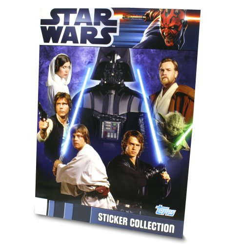 Star Wars Movie Sticker Collection 2012 - Sticker Album