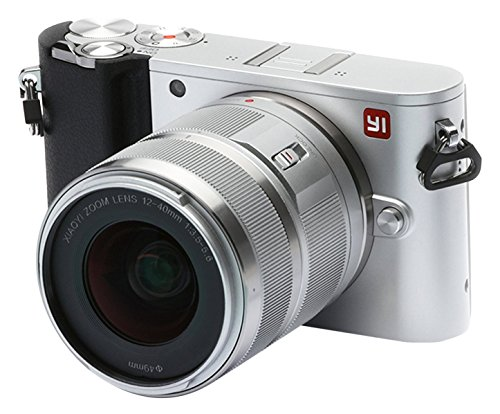 YI M1 95018, Cámara Digital, Mirrorless (20 MP, Lentes Intercambiables 12-40 mm, F3,5-5,6 Objetivo), Plateado