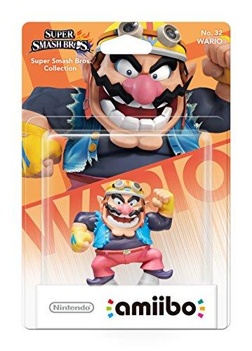 Nintendo - Figura Amiibo, Colección Super Smash Bros, Wario