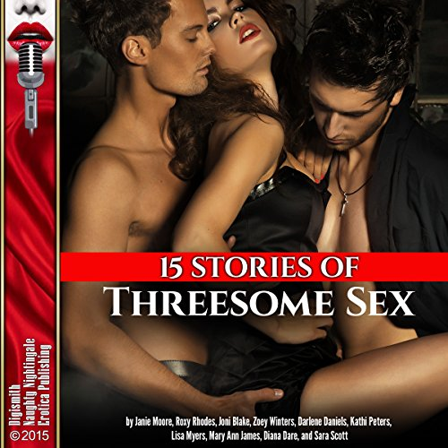 Couverture de 15 Stories of Threesome Sex