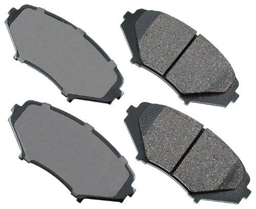 Akebono act1009Proact Ultra-premium pastillas de freno delanteras de cerámica para…