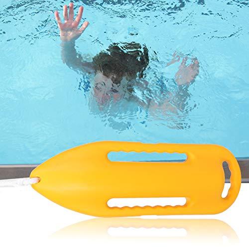 Hoseten Accesorios de natación Tubo de Rescate de flotabilidad Fuerte Dispositivo de...