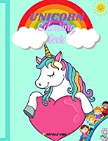 Unicorn colouring book: Amazing unicorns Easy colouring book The best gift for Boys and Girls