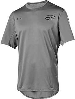 Fox Racing Flexair Short-Sleeve Jersey - Men's Grey Vintage, XL