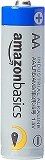 AmazonBasics AA Industrial Alkaline Batteries (Pack of 40)