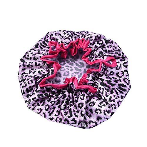 Magic Dry Hair Cap,Cheveux À Séchage Rapide,Serviette Absorbante pour Cheveux Secs 27cm/10.63in Double-Layer Design Simple and Elegant Design pour La
