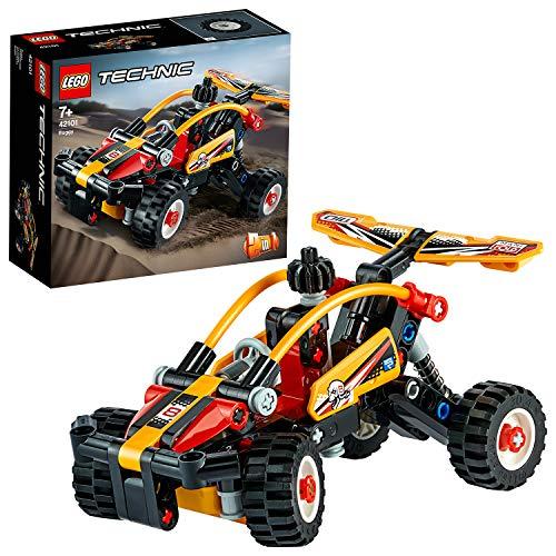 LEGO Technic Buggy e Macchinina da Corsa, Set da Costruzione2in1, Collezione Fuoristrada e Auto da Corsa, 42101