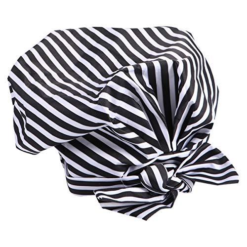 FRCOLOR Bonnet de Douche Réutilisable Sommeil Bouffant Bonnet de Gommage Étanche Séchage Rapide Filet de Cheveux de Bain pour Salon de Beauté Spa Barbier Utilisation