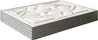 El Almacen del Colchon - Colchón viscografeno Modelo Royal Imperial, 160 x 200 x 30, Máxima Adaptabilidad - Todas Las Medidas, Gris y Blanco